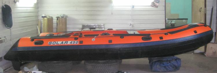 лодка jet 450