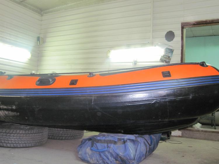 лодка пвх ниссан маран 420