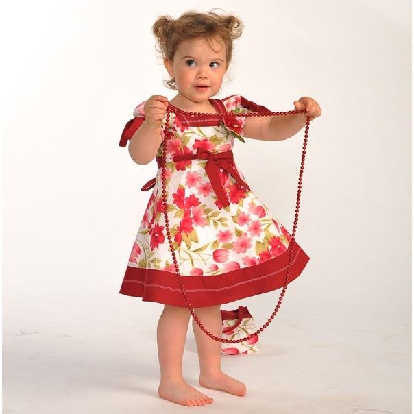 детские летние платья - Мода