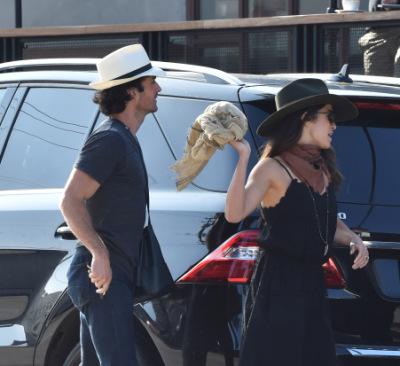 Йен и Никки Рид в Лос-Анджелесе [12 мая]