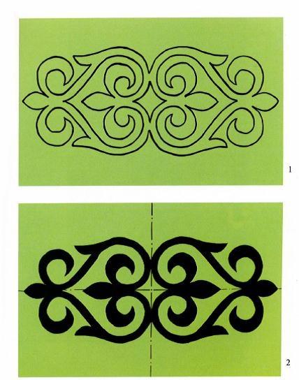 Сначала немного о казахских орнаментах. . Они являются важнейшими элементами в казахской национальной