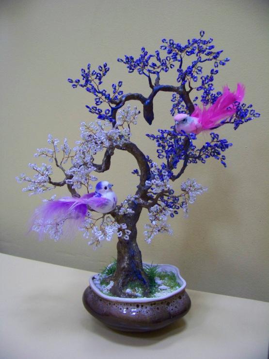 Gallery.ru / Дерево любви - Бисерные хитросплетения - zimushka00.
