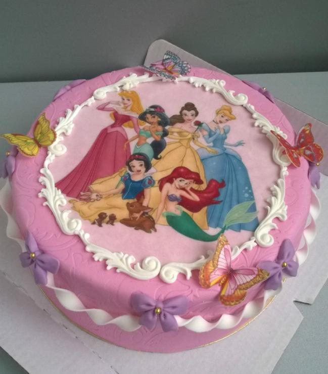 торт disney фото