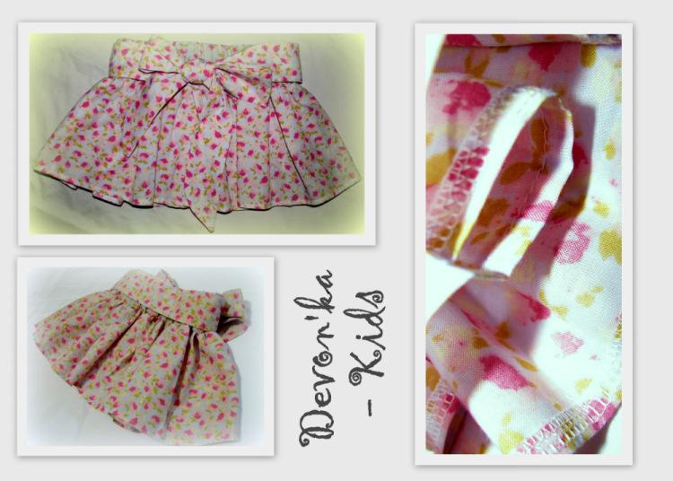 Как сшить красивую юбку для девочки 740