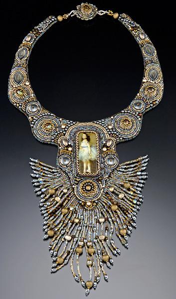 Бисерные украшения от Шерри Серафини (Sherry Serafini) .
