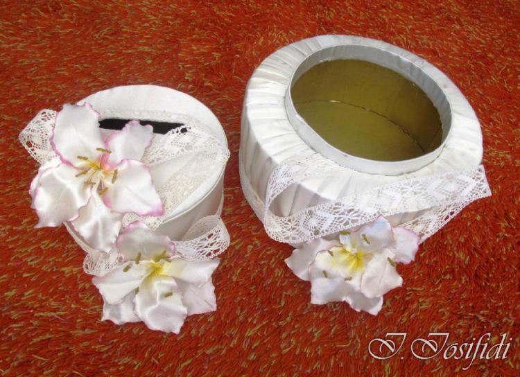 Как сделать свадебную своими руками из коробки