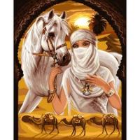"""Оригинал - Схема вышивки  """"Принцесса пустыни """" - Схемы автора  """"poltanya """" - Вышивка крестом."""