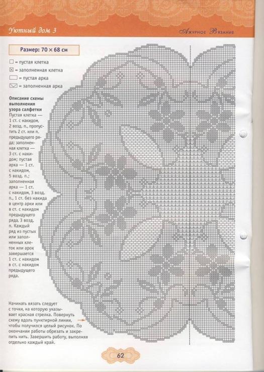 【引用】钩针~桌布(4) - 枫林傲然 -                  .
