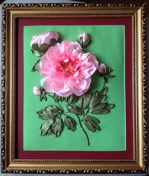 копринени рози