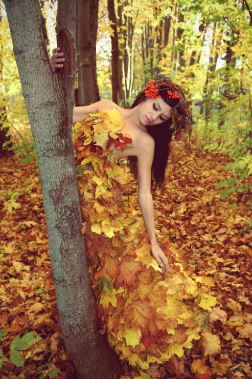 Костюмы своими руками на мисс осень фото