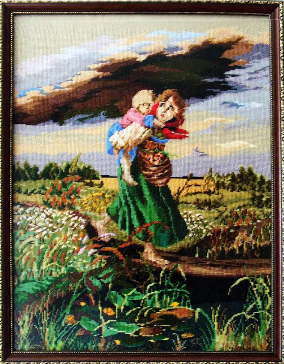 Gallery.ru / Фото #1 - Дети, бегущие от грозы - SARA-t.