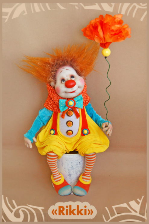 Игрушка клоун мастер класс